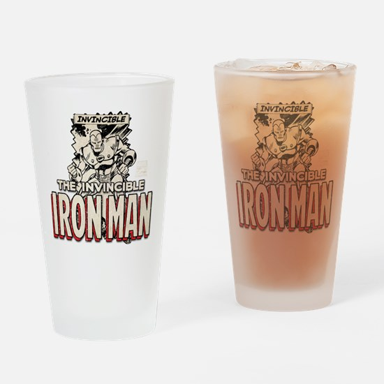 Iron Man MC 3 Drinking Glass