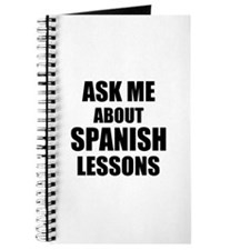 Ask me about Spanish lessons Journal