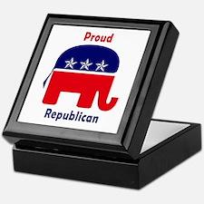 Register vote Keepsake Box