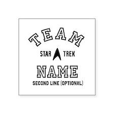 Team Star Trek Personalized Sticker