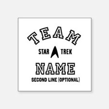 Team Star Trek Personalized Sticker