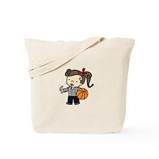 Girl Referee Tote Bag