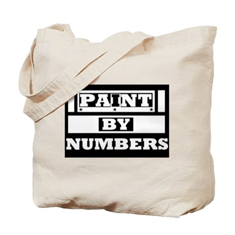 Paint By Numbers/Lone Star Tote Bag