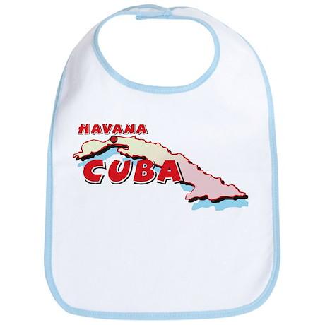 Cuba Map Bib