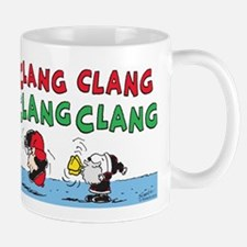 Snoopy and Lucy Christmas Mug