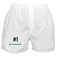 Number 1 GREAT GRANDDAUGHTER Boxer Shorts