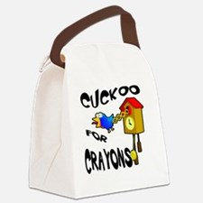 Cute Hobbies and interests Canvas Lunch Bag