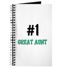 Number 1 GREAT AUNT Journal