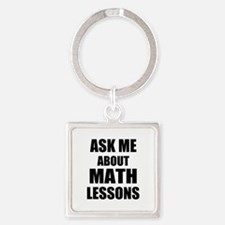 Ask me about Math lessons Keychains