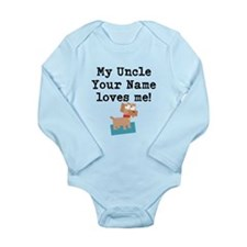 My Uncle Loves Me Dog (Custom) Body Suit