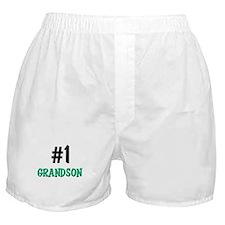 Number 1 GRANDSON Boxer Shorts