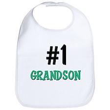 Number 1 GRANDSON Bib