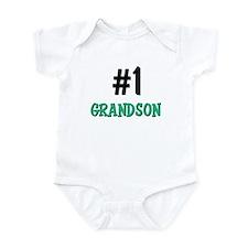 Number 1 GRANDSON Infant Bodysuit
