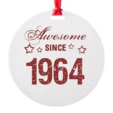 Awesome Since 1964 Ornament
