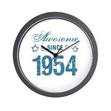 Awesome Since 1954 Wall Clock