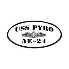 USS PYRO Patches