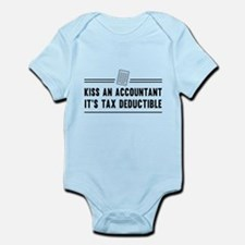 Kiss an accountant deductible Body Suit