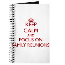 Cute Black family reunion Journal