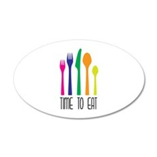Time To Eat Wall Decal