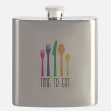 Time To Eat Flask