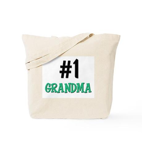 Number 1 GRANDMA Tote Bag