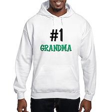 Number 1 GRANDMA Hoodie