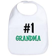 Number 1 GRANDMA Bib