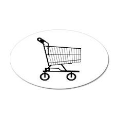 Shopping Cart Wall Decal