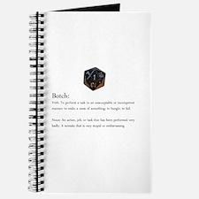 D20 Botch Journal