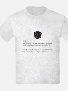 D20 Botch Kid's T-Shirt