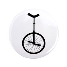 """Black Unicycle 3.5"""" Button (100 pack)"""