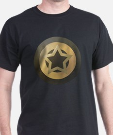 Bronze Star Sheild T-Shirt