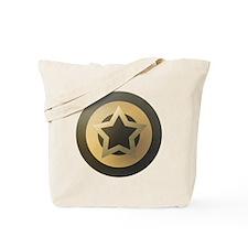 Bronze Star Sheild Tote Bag
