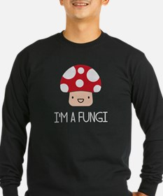 I'm a Fungi Fun Guy Mushroom Long Sleeve T-Shirt