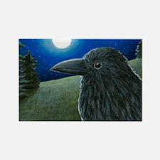 Bird 52 Crow Raven Magnets