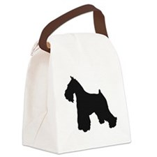 Cute Dog owners Canvas Lunch Bag