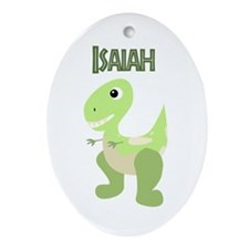 Isaiah Ornament (Oval)
