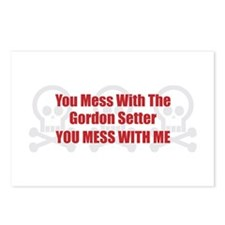 Mess With Setter Postcards (Package of 8)