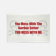 Mess With Setter Rectangle Magnet (10 pack)