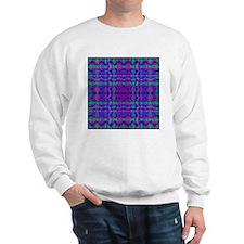 Kaleidoscope Plaid Sweatshirt