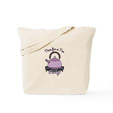 Tea Party Time Tote Bag