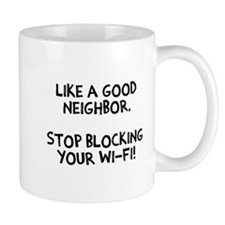 Neighbor Block Wi-Fi Mug
