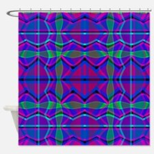 pink and green plaid shower curtains pink and green
