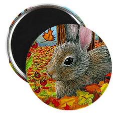 Hare 40 rabbit fall Magnets