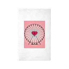 Love Ferris Wheel 3'x5' Area Rug