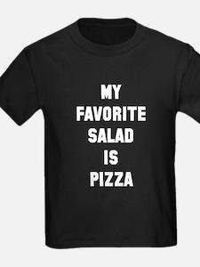 Favorite salad is pizza T