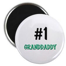 Number 1 GRANDDADDY Magnet
