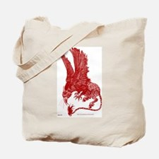 Red Ochre Hippogryph Tote Bag