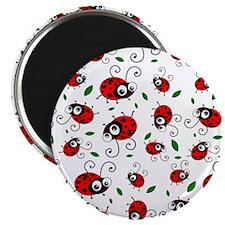 """Funny Ladybug 2.25"""" Magnet (10 pack)"""