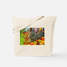 Cute Rabbit art Tote Bag